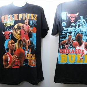 Other - CHICAGO BULLS 1996 NBA Champions Rap Tee